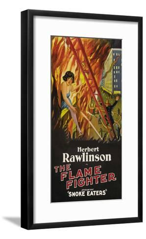 The Flame Fighter - Smoke Eaters--Framed Art Print