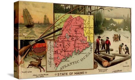 Maine-Arbuckle Brothers-Stretched Canvas Print