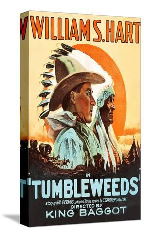 Tumbleweeds--Stretched Canvas Print