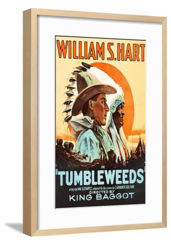 Tumbleweeds--Framed Art Print