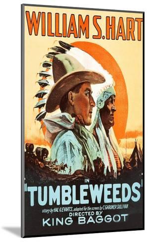 Tumbleweeds--Mounted Art Print
