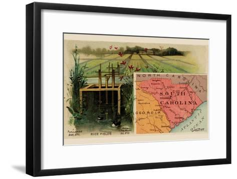 South Carolina-Arbuckle Brothers-Framed Art Print