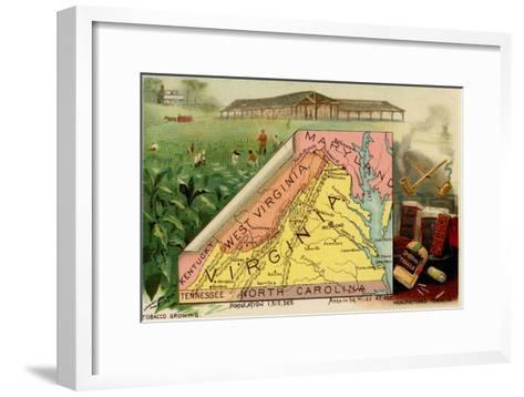 Virginia-Arbuckle Brothers-Framed Art Print