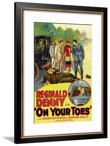 On Your Toes--Framed Art Print
