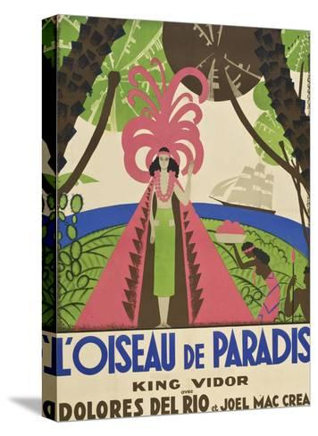"Bird of Paradise ""L'Oiseau De Paradis""--Stretched Canvas Print"