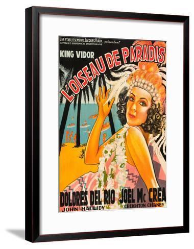 "Bird of Paradise ""L'Oiseau De Paradis""--Framed Art Print"