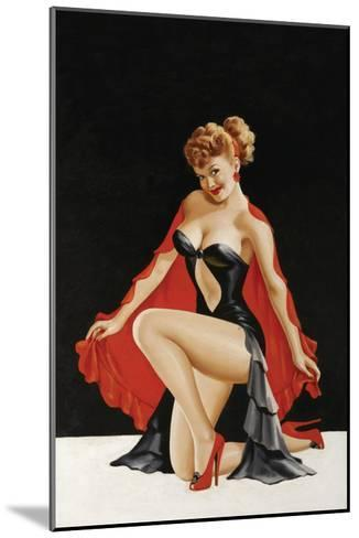 Magazine Cover; Little Red Cape-Peter Driben-Mounted Art Print