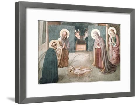 Birth of Christ-Fra Angelico-Framed Art Print