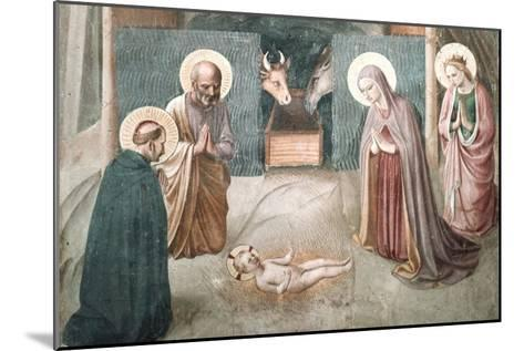 Birth of Christ-Fra Angelico-Mounted Art Print