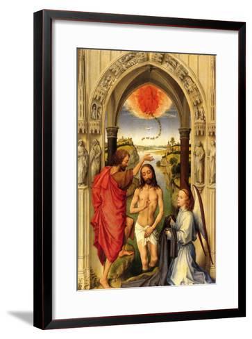 Baptism of Christ-Rogier van der Weyden-Framed Art Print