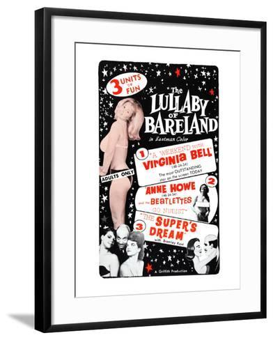The Lullaby of Bareland--Framed Art Print