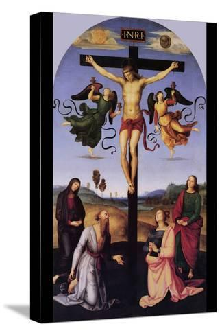 Christ on the Cross-Raphael-Stretched Canvas Print