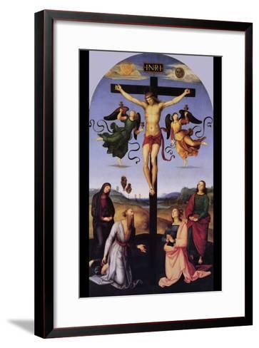 Christ on the Cross-Raphael-Framed Art Print