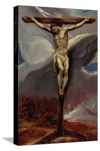 Christ at the Cross-El Greco-Stretched Canvas Print