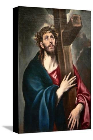 Christ Carrying the Cross by Greco-El Greco-Stretched Canvas Print