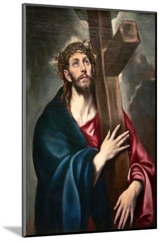 Christ Carrying the Cross by Greco-El Greco-Mounted Art Print