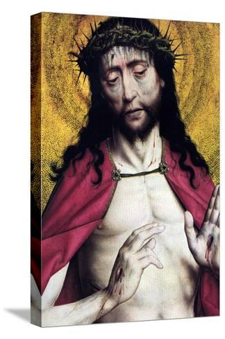 Christ Crowned with Thorns--Stretched Canvas Print