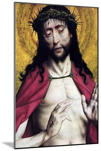 Christ Crowned with Thorns--Mounted Art Print