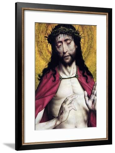 Christ Crowned with Thorns--Framed Art Print