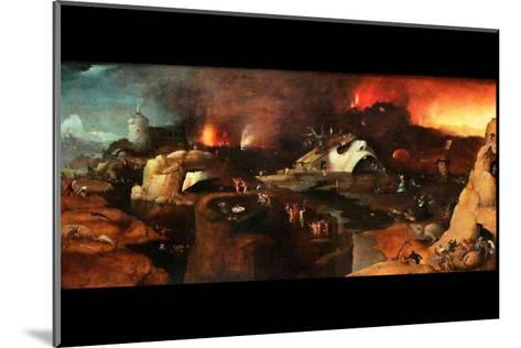 Christ Descent into Hell-Hieronymus Bosch-Mounted Art Print