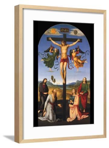 Crucified Christ-Raphael-Framed Art Print