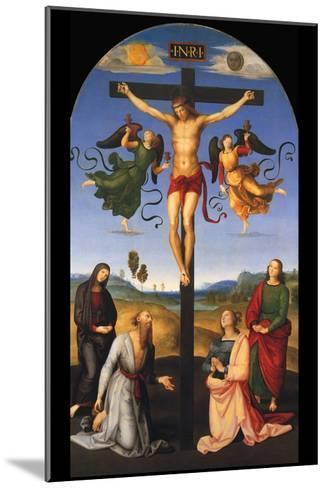 Crucified Christ-Raphael-Mounted Art Print