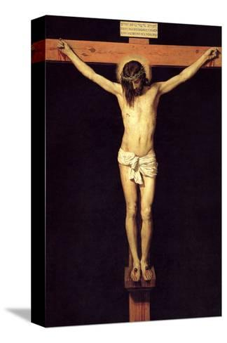 Crucified Christ-Diego Velazquez-Stretched Canvas Print