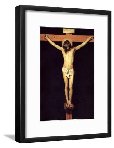 Crucified Christ-Diego Velazquez-Framed Art Print