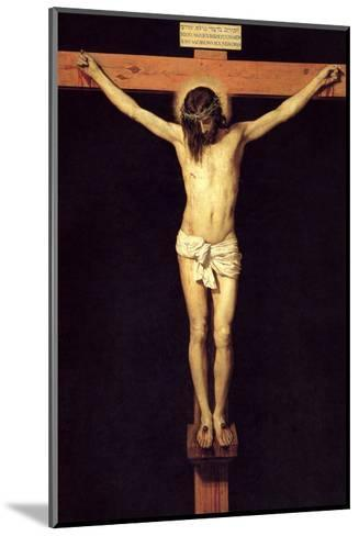 Crucified Christ-Diego Velazquez-Mounted Art Print