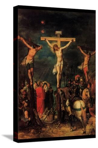 Crucifixion of Christ by Francken- Francken-Stretched Canvas Print