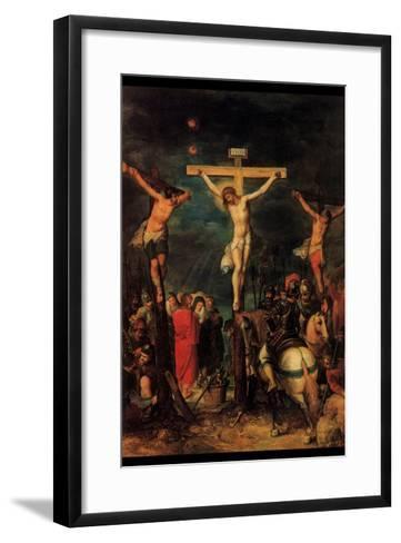 Crucifixion of Christ by Francken- Francken-Framed Art Print