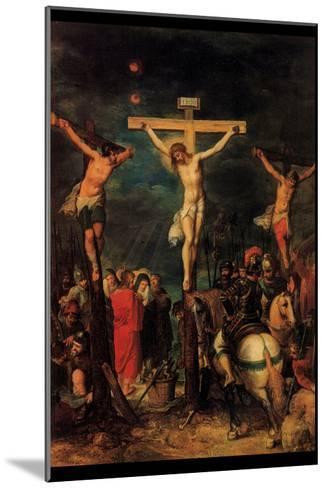 Crucifixion of Christ by Francken- Francken-Mounted Art Print