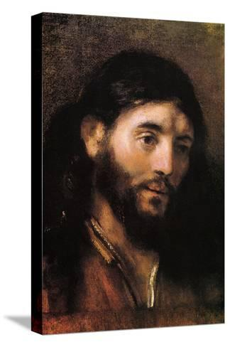 Head of Christ--Stretched Canvas Print