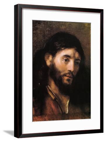 Head of Christ--Framed Art Print