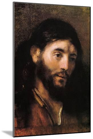 Head of Christ--Mounted Art Print