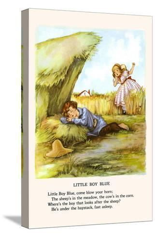Little Boy Blue-Bird & Haumann-Stretched Canvas Print