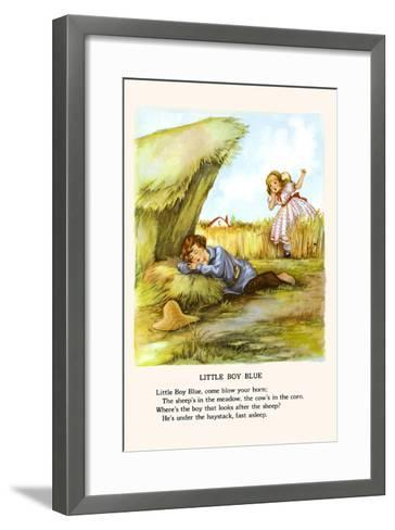 Little Boy Blue-Bird & Haumann-Framed Art Print