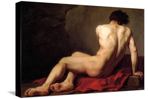Patroclus-Jacques-Louis David-Stretched Canvas Print