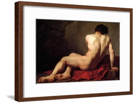 Patroclus-Jacques-Louis David-Framed Art Print