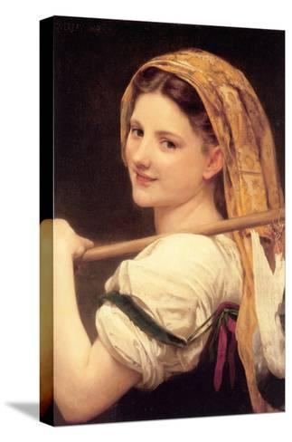 Returned from the Market-William Adolphe Bouguereau-Stretched Canvas Print