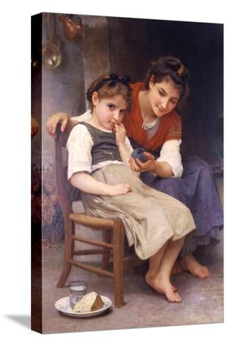 Sulking-William Adolphe Bouguereau-Stretched Canvas Print