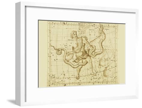 Orphiucus and Serpens-Sir John Flamsteed-Framed Art Print