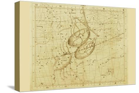 Libra-Sir John Flamsteed-Stretched Canvas Print