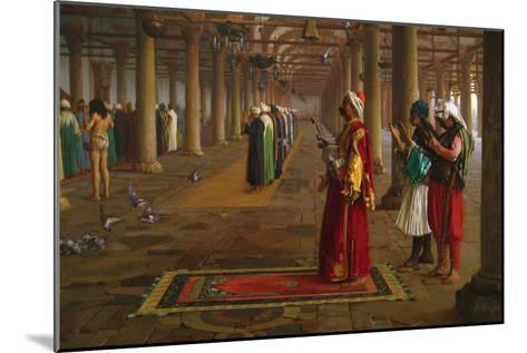 Prayer in a Mosque-Jean Leon Gerome-Mounted Art Print