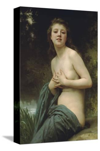 Spring Breeze-William Adolphe Bouguereau-Stretched Canvas Print