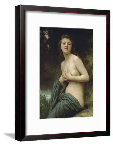 Spring Breeze-William Adolphe Bouguereau-Framed Art Print