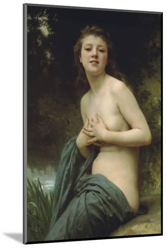 Spring Breeze-William Adolphe Bouguereau-Mounted Art Print