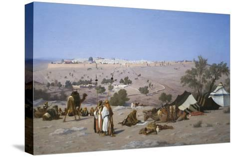 Jerusalem from the Environs-Charles Theodore Frere-Stretched Canvas Print