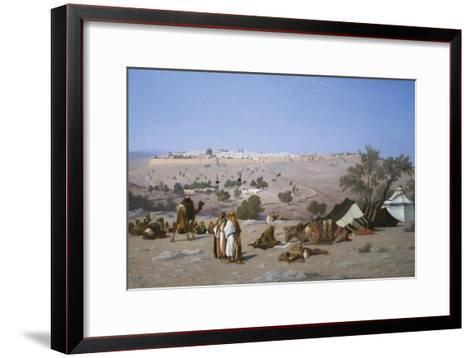 Jerusalem from the Environs-Charles Theodore Frere-Framed Art Print