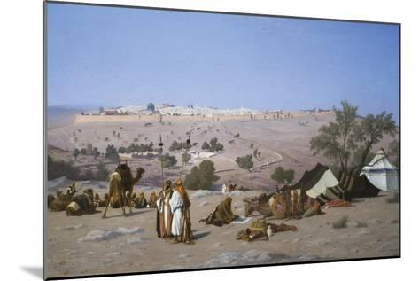 Jerusalem from the Environs-Charles Theodore Frere-Mounted Art Print